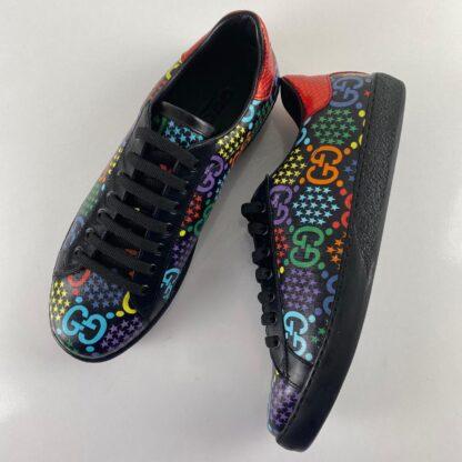 gucci ayakkabi ace black GG sneaker siyah