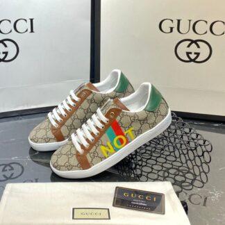 gucci ayakkabi not print ace sneakers
