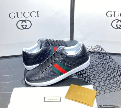 gucci ayakkabi sneaker classic siyah