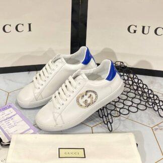 gucci ayakkabi sneaker mavi beyaz