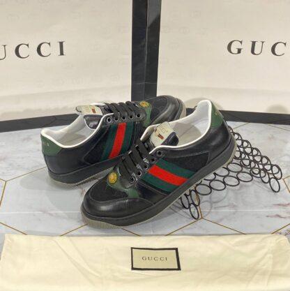 gucci ayakkabi sneaker siyah