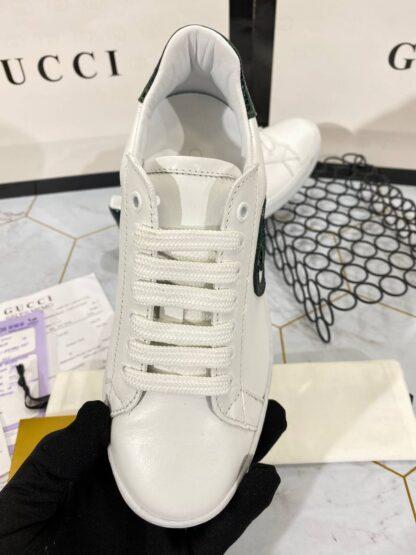 gucci ayakkabi sneaker yesil beyaz