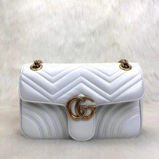 gucci canta marmont beyaz 25x15 cm