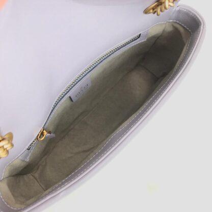 gucci canta marmont gri 25x15 cm