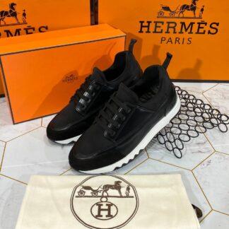 hermes ayakkabi 2021 erkek sneakers siyah beyaz