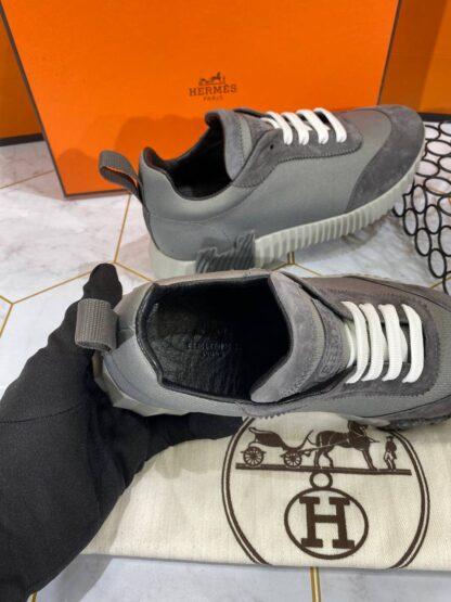 hermes ayakkabi bouncing sneakers gri