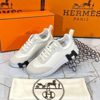 hermes ayakkabi erkek bouncing sneakers beyaz