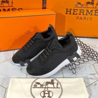 hermes ayakkabi erkek bouncing sneakers siyah