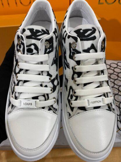 louis vuitton ayakkabi ithal taban sneaker beyaz
