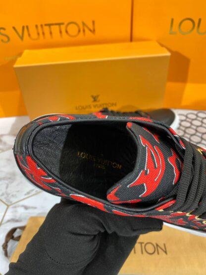 louis vuitton ayakkabi ithal taban sneaker siyah