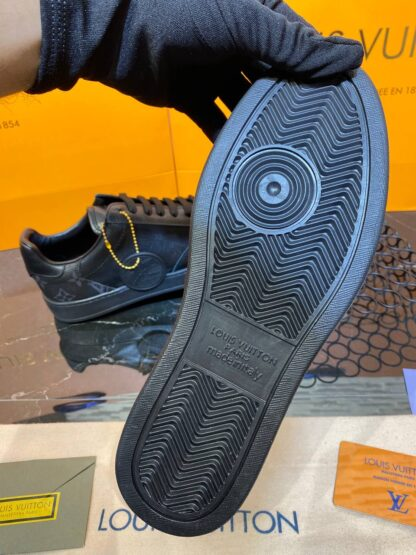 louis vuitton ayakkabi rivoli erkek siyah