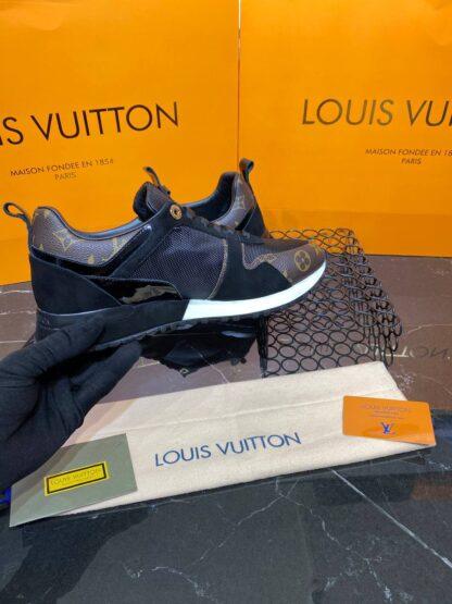 louis vuitton ayakkabi run away sneaker siyah