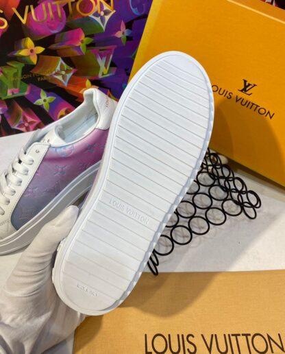 louis vuitton ayakkabi time out beyaz sneakers