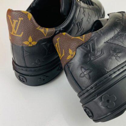 louis vuitton ayakkabi time out monogram erkek sneaker taban 4cm