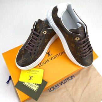 louis vuitton ayakkabi time out monogram sneaker taban 4cm
