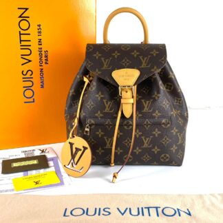 louis vuitton canta montsouris pm monogram sirt 33x27x14
