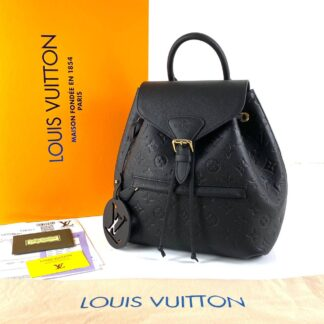 louis vuitton canta siyah montsouris empreinte pm sirt 33x27x14