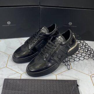 philipp plein ayakkabi erkek sneaker siyah
