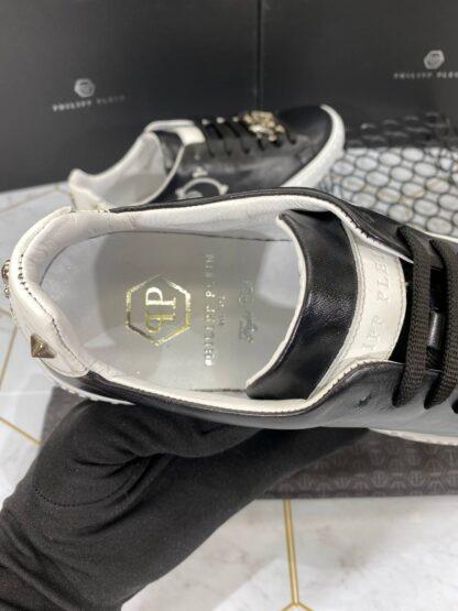 philipp plein ayakkabi erkek sneaker siyah beyaz