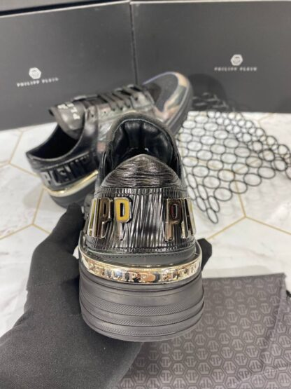 philipp plein ayakkabi erkek sneaker siyah kamuflaj