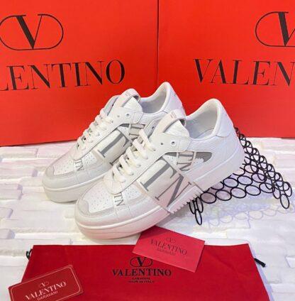 valentino ayakkabi erkek sneaker beyaz