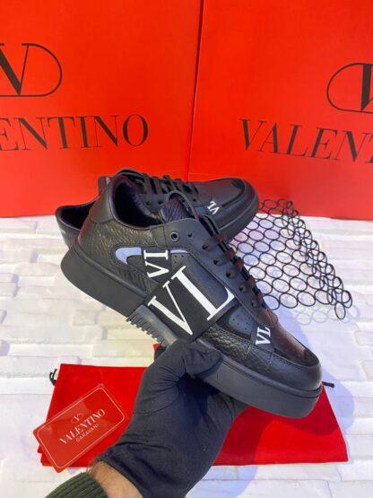 valentino ayakkabi erkek sneaker garavani siyah