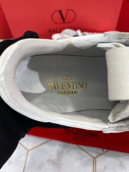 valentino ayakkabi garavani sneaker beyaz mavi