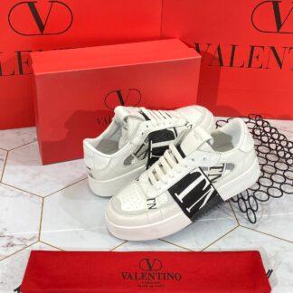 valentino ayakkabi garavani sneakers siyah beyaz