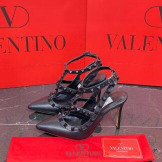 valentino ayakkabi rockstud kadin topuklu siyah