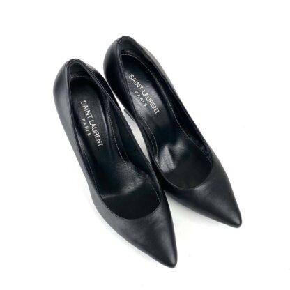 yves ayakkabi opyum pumbs siyah stiletto 11 cm