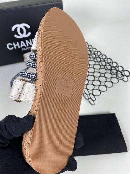 chanel ayakkabi krem terlik yeni sezon