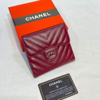 chanel canta bordo silver chevron mini cuzdan 11x9 cm