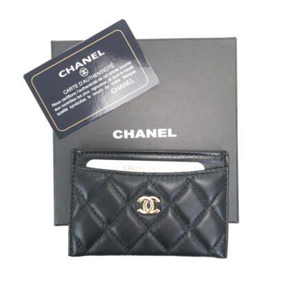 chanel canta siyah gold kapitone kartlik 11.2x7.5 cm