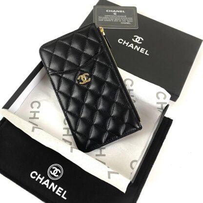 chanel canta siyah gold vip cuzdan 19.5x10.5 cm
