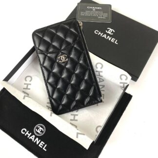 chanel canta siyah silver vip cuzdan 19.5x10.5 cm