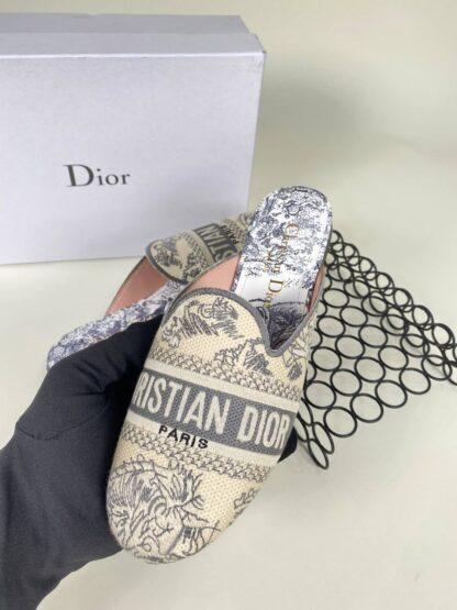christian dior ayakkabi nakisli gri terlik 2021