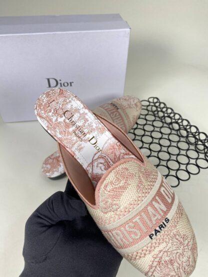 christian dior ayakkabi nakisli pudra pembe terlik 2021