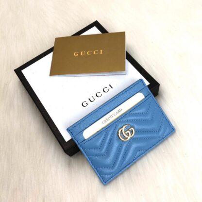 gucci canta mavi gold kartlik 11.2x7.5 cm