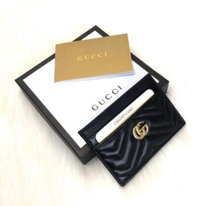 gucci canta siyah gold kartlik 11.2x7.5 cm