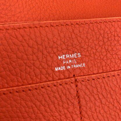 hermes canta turuncu dogon cuzdan 20x12 cm