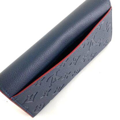 louis vuitton canta sarah lacivert cuzdan 19.5x10.5 cm