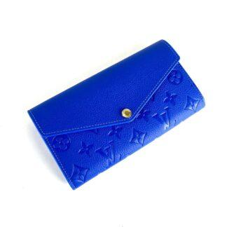 louis vuitton canta sarah saks mavi cuzdan 19.5x10.5 cm