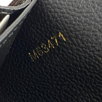 louis vuitton canta sarah siyah cuzdan 19.5x10.5 cm