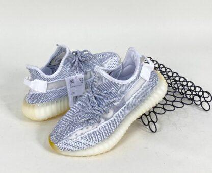 adidas ayakkabi yeezy boost sneakers gri beyaz ithal