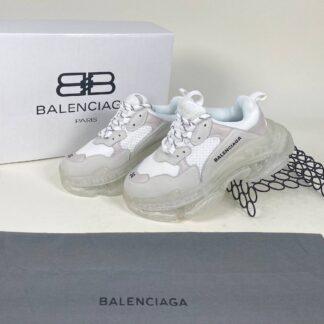 balenciaga ayakkabi sneaker triple s beyaz seffaf ithal