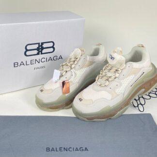 balenciaga ayakkabi sneaker unisex triple s beyaz seffaf ithal