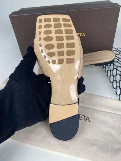bottega veneta ayakkabi nude renk terlik