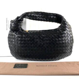 bottega veneta canta jodie medium boy siyah 54x35 cm
