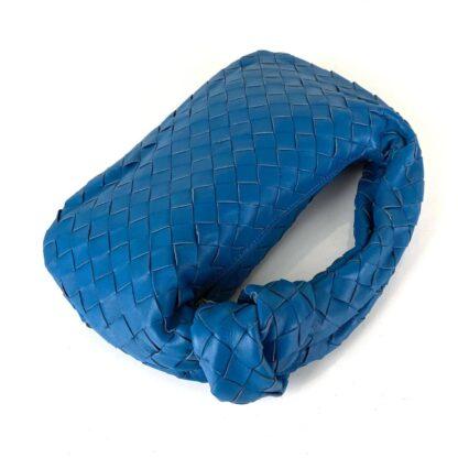 bottega veneta canta jodie mini boy mavi 48x40 cm