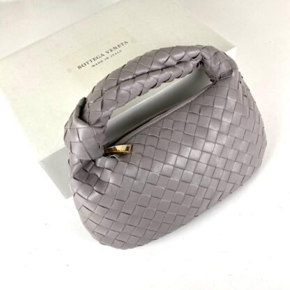 bottega veneta canta jodie mini boy vizon 48x40 cm